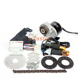 Wholesale Variable Speed Motors - 350W New Arrival Electric Geared Bicycle Motor Kit Electric Derailleur Engine Set Variable Multiple Speed Bicycle Electric Kit