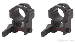 Wholesale Scope Mounts Inch - Vector Optics Tactical 25mm 1 Inch Quick Release Scope High Picatinny QD Mount Ring Riflescopes free shipping