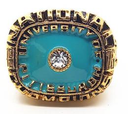 Wholesale Gold University Ring - 1976 sugar bowl university of pittsburgh Dorsett national championship ring