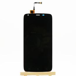оригинальные мобильные телефоны lcd оптом Скидка Wholesale- For homtom ht6 LCD Screen New Original lcd display+Touch Panel Replacement For homtom ht6 Mobile phone