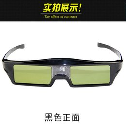 Wholesale Benq New 3d Glasses - Wholesale- NEW 144HZ Active Shutter 3D dlp link 3d glasses projector 3d glasses for Acer   Potoma   BenQ   Dell