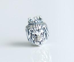 Wholesale Fish Beads - Authentic Sterling Silver 925 lion fish kangaroo animals cz Bead Fit Pandora Charm Bracelet women wedding bracelet cz Jewelry