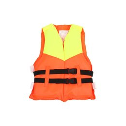 Wholesale child inflatable life vest - Wholesale- Child Water Sports Life Vest Jackets Children's Lifejacket Fishing Life Saving Vest Inflatable Life Jacket For Kids