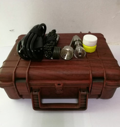 Wholesale E Cigarette Box Case - 2016 New Invention Pelican Dnail E NAIL Heater Coil Yellow Pelican Case Temp Control E Cigarette Dry Herbal Box Vaporizer ENail Kit