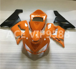 3gifts Fairing Kit For KAWASAKI Ninja ZX6R 636 05 06 ZX 6R 2005 2006 Zx6r Compression Mold Fairings Set Orange Black A21
