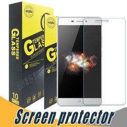 Wholesale Screen Protector For Zte Grand - Tempered Glass Screen Protector 9H 2.5D Anti Explosion For ZTE Max Pro Prestige2 N9136 N9132 V5 V5 Max V6 Grand X4 L2 L3 Pro Z981