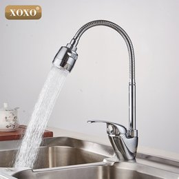 Wholesale Brass Wash Sink - Wholesale- XOXO Brass mixer tap cold and hot water kitchen faucet kitchen sink tap Multifunction shower Washing machine 2262