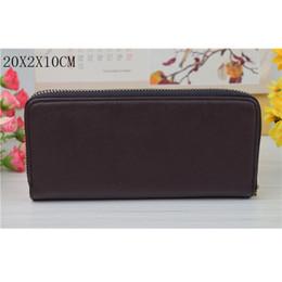 Wholesale White Ladies Model - New men and women general couples models long wallet handbags simple lady wallet 08088