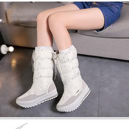 Venda quente do inverno mulheres do sexo feminino botas de quatro cores branco preto cinza e marinha botas venda quente china marca botas de inverno cheap white colour women boots de Fornecedores de botas femininas de cor branca