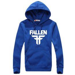Wholesale Directed Bands - 2017 New Men Hoodies Sweatshirts Blue Pullover Hooded Casual Van Band Mens Sportswear Hoody Factory Direct Sales