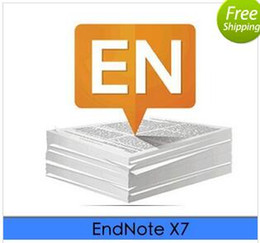 Wholesale Official Windows - Official Genuine EndNote X7 Mac   Win compatible serial number activation code Word2016 Support Update