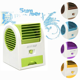 Wholesale Bladeless Fans - Wholesale- Mini Electric Hand Turbo Bladeless Fan Aromatherapy Fan USB Or Batteries Operated For Home Office Classom USE