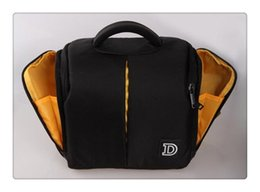 Wholesale Photo Dslr - New DSLR Waterproof Camera Bag For Nikon D5500 D3200 D3100 D5100 D7100 D5200 D5300 D3300 D90 D7000 D610 Rain Cover Photo Case
