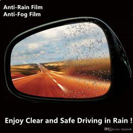 Wholesale New Side Mirror For Car - 2017 New Rain-x Anti-fog Anti-rain Film for SUV Rear View Mirror Flexible Anti Rain Stick Film for Car Side Windows Fast Clear Effect-TT02