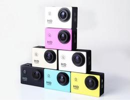 Wholesale Send Camera - A7 freestyle 2 inch LCD 1080P Full HD HDMI action camera 30 meters waterproof DV camera sports helmet SJcam Free send DHL