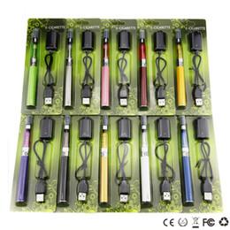 Wholesale Ego T Ce5 Blister - ego ce5 kit CE5 Blister pack kit ce5 atomizer 650mah 900mah 1100mah ego t battery electronic cigarettes cheap starter kits