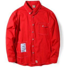 Wholesale Baseball Jacket Women Letter S - VETEMENTS high quality Work clothes denim jacket Men and women Justin Bieber baseball jacket Kanye West ma-1 pilot Embroidery jacket