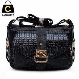 Wholesale Cheap Leather Handbags For Women - Wholesale- Fashion HandBags For Women Messenger Bags Cheap PU Leather Shoulder Bag Crossbody For Best Ladies Gift High Quality Satchel