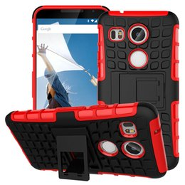 Wholesale Nexus Rugged - For LG Nexus 5X Case Heavy Duty Rugged Shell Shockproof Protection Cover TPU Robot Hard Case LG Nexus 5X LG Angler Armor Case
