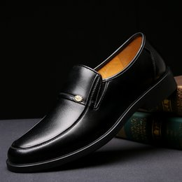 Wholesale Ivory Pointed Toe Lace Heels - Men Dress Shoes Wholesale Soft Pointed Toe Classic Fashion Hot Sale Business Oxford Shoes For Men Loafers 2017 New Men Leather Shoes