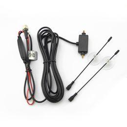 Wholesale Antenna Booster Car - FEELDO Car F Connector Plug Digital Auto TV Antenna with Built-in Booster Amplifier Car Antenna sku:909