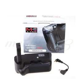 Wholesale Battery El14 - New Meike MK-D5200 Vertical Muti-Power Battery Grip EN-EL14 for Nikon D5200 DSLR