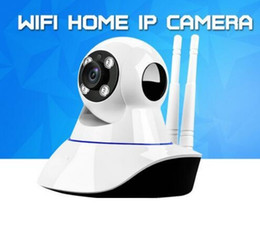 Wholesale Mini Box Cctv Cameras - Home Security Wireless Mini IP Camera Surveillance Camera Wifi 720P Night Vision CCTV Camera Baby Monitor With the Retail Box