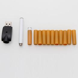 Wholesale Electronic Cigarette Refill Usb Rechargeable - Quit Smoking USB Rechargeable XL-506 Electronic Cigarette E-Cigarette with 10-Refills Set DC 5V E Cig Ecig
