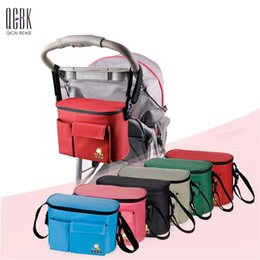 Wholesale Package Diaper - Wholesale-2 In1 Nylon Diaper Bag Multifunction Baby Bag Hobos Nappy Bags Big Capacity Stroller Mummy Package For Mom Baby Stroller