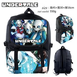 Wholesale Boys Brother - The latest legend under the backpack Undertale skeleton brother sans backpack boy girl Backpack Bag Backpack game Backpack