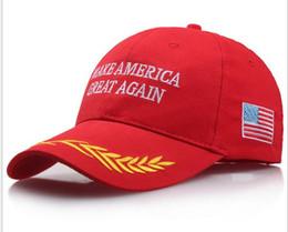 Wholesale Wholesaler Made Usa - Make America Great Again Donald Trump Hat Cap Republican hot fashion US Trump For President USA Hat cc707