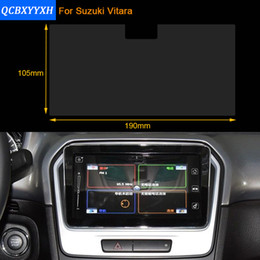 Wholesale Protective Film For Cars - Car Styling 9 Inch GPS Navigation Screen Steel Protective Film For Suzuki Vitara 2016 Control of LCD Screen Car Sticker