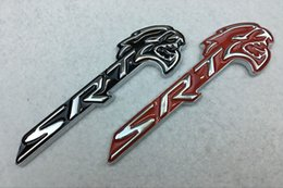 Wholesale For Dodge Challenger Charger SRT Hellcat Logo Car Fender Side Emblem Badge Nameplate Stickers