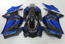 Wholesale New Hot Fairings Kits - New ABS Injection Fairing Kits 100% Fit For kawasaki Ninja250r EX250 ZX250R 250R 2008 2009 2010 2011 2012 08 09 10 11 12 hot sell black blue