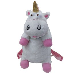 Wholesale Despicable Plush Backpack - Wholesale- 50cm Despicable Me Unicorn Bag Plush Unicorns Toy Backpack Toys For Girls Kids Birthday Gift Cute Backpacks BB0059
