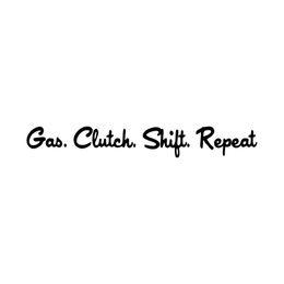 Wholesale Gas Clutch - 2017 Hot Sale Car Stying Gas Clutch Shift Decal Funny Car Vinyl Sticker Window Personality Style Jdm
