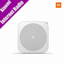 Wholesale Portable Wireless Network - Wholesale-Original Xiaomi Wifi Network Radio Bluetooth Internet Radio Wireless Speaker Portable Player Support Android 4.0 IOS 7.0