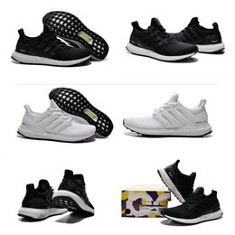 Wholesale Lace High Lows - 2017 High Quality White & Black Ultra Boost 2 Running Shoes Men Women Ultraboost 2.0 Athletic Shoes Unisex Sports Sneakers Eur 36-45