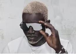 2019 gafas de sol para hombre cool Cool Mens Glassing GP1 Gafas de sol cuadradas con espejo Sin marco mujer Gafas Nuevo con caja rebajas gafas de sol para hombre cool