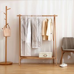 Wholesale Suit Coat Dust Cover - Vacuum Bags for Storing Clothes Garment Suit Coat Dust Cover cloths dust shield, transparent home coat and suits cover bag