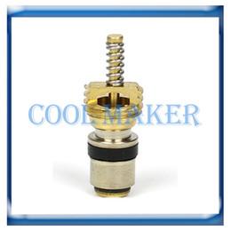 Wholesale Peugeot Compressor - Auto a c valve core for Citroen Peugeot Volvo R134a 50 pcs lot
