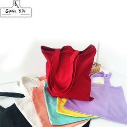 Wholesale Healthy Bag Pack - Wholesale- Fluid Systems Shopping Bags 2016 Cloth Fabric Grocery Packing Recyclable Bag Hight Simple Design Healthy Tote Handbag 8 Colors