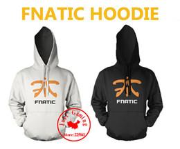 Wholesale Dota Hoodie - Wholesale-Spring Autum clan FNATIC game team hoodie suit men Jersey Clothing game team uniform CS dota SteelSeries sweatshirts hoody