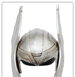 Wholesale Avengers Cosplay - The Avengers 2 Thor helmet Thor Mask Cosplay Halloween Mask Collection Model Thor helmet costume