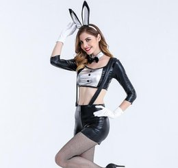 Wholesale Tights Girls Models - Sexy Girl Performance Costume Clothes Tights Adult Female Models Halloween Costumes Cosplay Clothing Game Women Sexy Costume