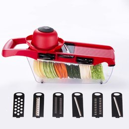 Wholesale Cucumber Fruit - Multi Function Slicer Cutter Shredder Potato Carrot Cucumber Slicers Kitchen Vegetable Fruit Cutters Tools Food Dining Tool Grater Shredders
