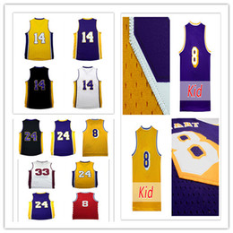 Wholesale B 24 - 2017 New Men's Draft Brandon Ingram #14 Jerseys Cheap Wholesale #14 Ingram K B 24# 8# Basketball Jersey embroidery logo,free shipping