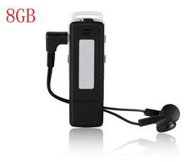 Frete grátis UR-12 USB Disk Áudio Digital Voice Recorder 8GB MP3 Player Recorder One Button + Long Time Recording de