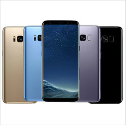Wholesale Top 3g Android Phones - Top quality Goophone S8 Phone Android 7.0 MTK6735 Quad Core 1G Ram 8GB Rom 8MP Camera 1280*720 Show 3G ram 64G rom Smartphone