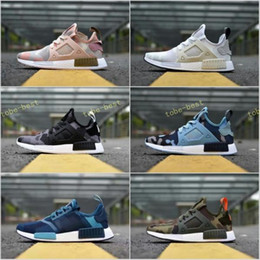 Wholesale Camo Hunting Boots - 2017 Hot Sale Drop Shipping Cheap Famous NMD XR1 Navy White Army Green Duck Camo Womens Mens Sports Running Shoes Size 36-44